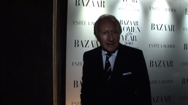 Harold Tilman arrives for the Harper's Bazaar Awards Harper's Bazaar Women Of The Year Awards at One Mayfair on November 01 2010 in London