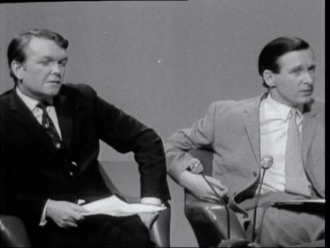 harold wilson interview on his opposition to the common market:; england: london: itn house: harold wilson live studio interview sot - [not claiming... - {{relatedsearchurl(carousel.phrase)}} stock-videos und b-roll-filmmaterial
