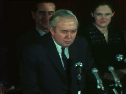 harold wilson speech in cheltenham:; england, cheltenham harold wilson mp speech sof - he must now, today, i emphasise today call the miners and the... - liquid stock videos & royalty-free footage