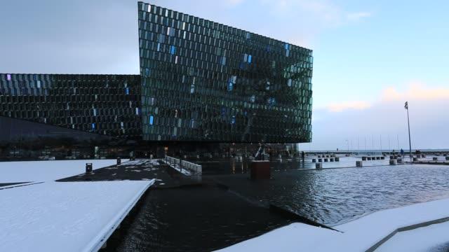 Harpa, Concert Hall, Reykjavik, Iceland,