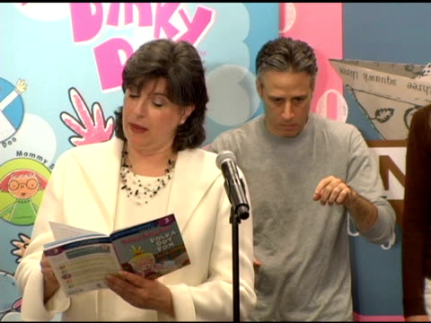 harriet novette vp public affairs of time warner ny/nj speed reads for charity at the new national literacy campaign 'get ready to read' introduced... - barnes & noble stock videos and b-roll footage