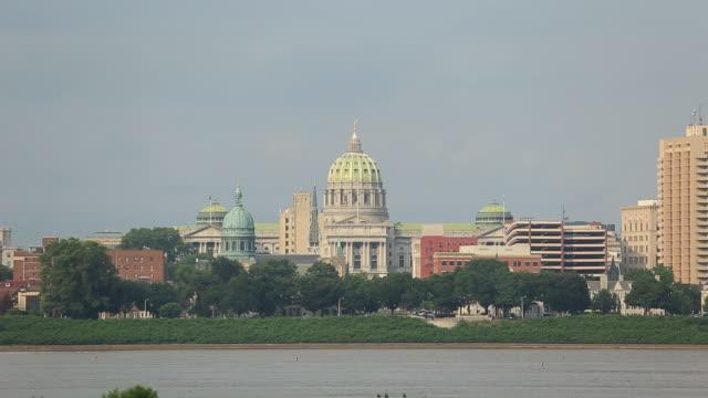 vidéos et rushes de harrisburg, pennsylvanie - pennsylvanie