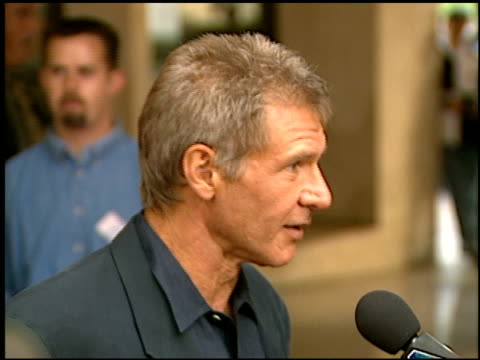 harrison ford at the 'air force one' premiere on july 21 1997 - 1997 stock videos & royalty-free footage