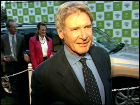 harrison ford at the environmental media awards at wilshire ebell theatre in los angeles, california on october 1, 2005. - environmental media awards stock-videos und b-roll-filmmaterial