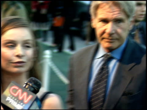 harrison ford at the environmental media awards at wilshire ebell theatre in los angeles california on october 1 2005 - environmental media awards点の映像素材/bロール