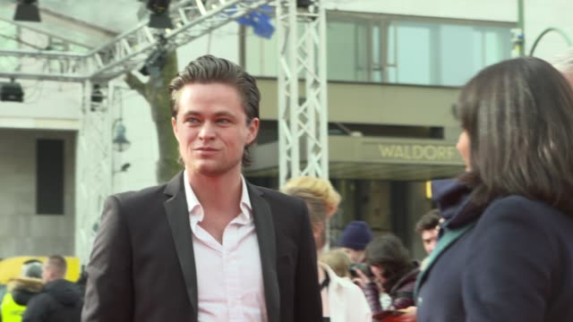 Harrison Gilbertson at 68th Berlin Film Festival Picnic At Hanging Rock Red Carpet at Zoo Palast on February 19 2018 in Berlin Germany