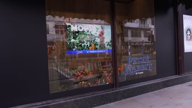 Harrods is celebrating the world of Peter Rabbit across all of its Brompton Road windows The windows display memorable scenes and locations from the...