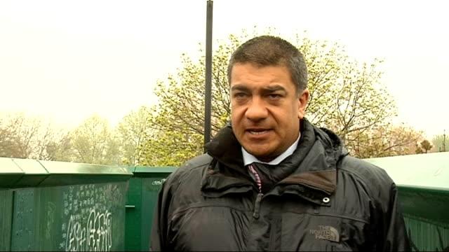 released; detective chief inspector alan aubeelack interview sot - harrow stock videos & royalty-free footage