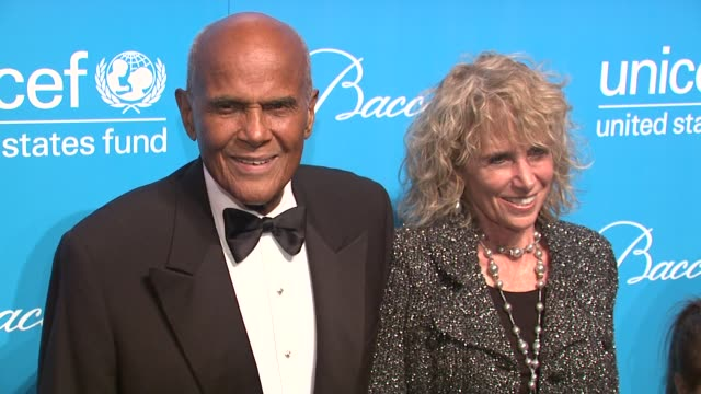 harry belafonte at 2012 unicef snowflake ball presented by baccarat at cipriani 42nd street on november 27, 2012 in new york, new york - harry belafonte stock videos & royalty-free footage