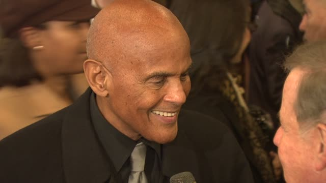 harry belafonte at the opening night of 'cat on a hot tin roof' at new york ny. - harry belafonte stock videos & royalty-free footage