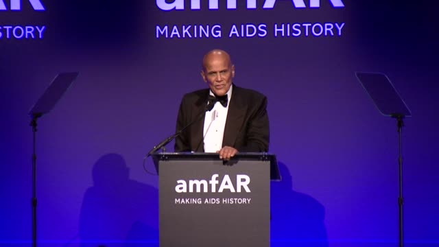 harry belafonte on helping the world at 2015 amfar new york gala at cipriani, wall street on february 11, 2015 in new york city. - harry belafonte stock videos & royalty-free footage