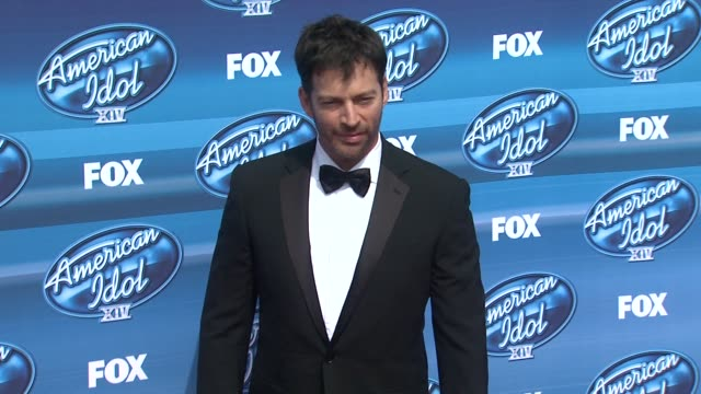 harry connick jr at the american idol xiv grand finale arrivals at dolby theatre on may 13 2015 in hollywood california - american idol stock videos and b-roll footage