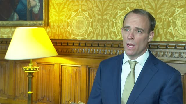 harry dunn's parents to appeal after losing high court case against foreign office england london int dominic raab mp interview excerpt sot i think... - itv lunchtime news stock videos & royalty-free footage