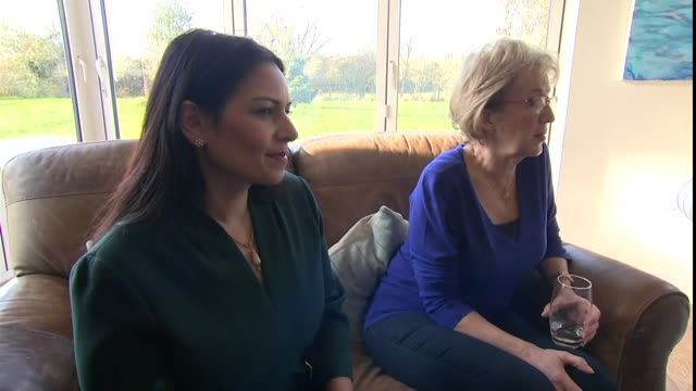 harry dunn's father tim meeting with home secretary priti patel and mp andrea leadsom to talk about extraditing ann sacoolas who caused the crash... - home secretary stock videos & royalty-free footage
