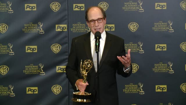 SPEECH Harry Friedman on winning the award at 42nd Annual Daytime EMMY Awards at Warner Bros Studios on April 26 2015 in Burbank California