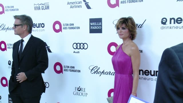 Harry Hamlin and Lisa Rinna at 23rd Annual Elton John AIDS Foundation Academy Awards Viewing Party Sponsored By Chopard Neuro Drinks And Wells Fargo...