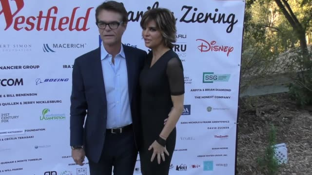 Harry Hamlin and Lisa Rinna at The TreePeople 'Evening Under the Harvest Moon' Benefit on October 07 2017 in Beverly Hills California