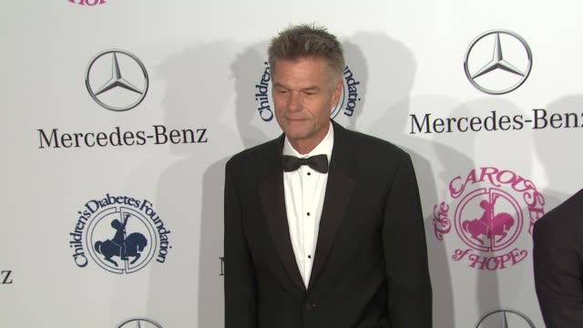 Harry Hamlin at 26th Anniversary Carousel of Hope Ball on in Beverly Hills CA