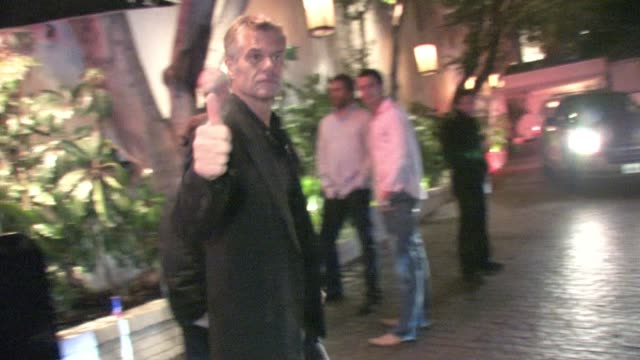 Harry Hamlin at Chateau Marmont in West Hollywood at the Celebrity Sightings in Los Angeles at Los Angeles CA