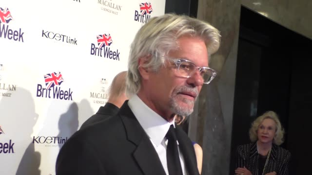Harry Hamlin at the BritWeek 10th Anniversary Red Carpet Celebration of 'Murder Lust and Madness' at the Wallis Annenberg Center for the Performing...
