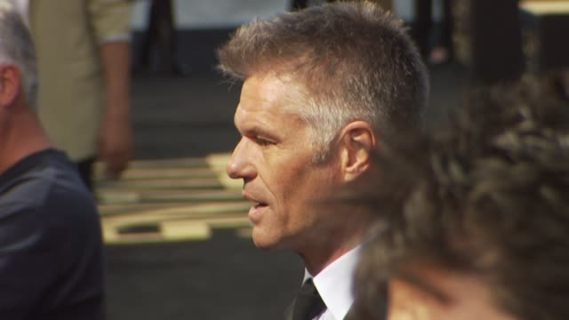 harry hamlin at the 'clash of the titans' premiere at hollywood ca - clash of the titans stock videos & royalty-free footage
