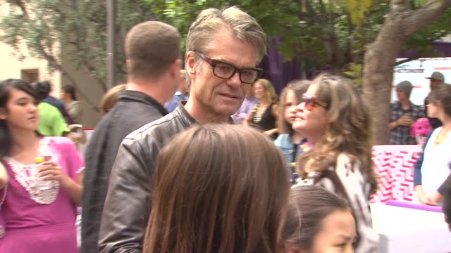 harry hamlin at the nickelodeon's 'iparty with victorious' premiere at west hollywood ca - harry hamlin stock videos and b-roll footage