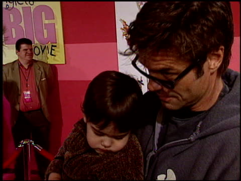 harry hamlin at the 'piglet's big movie' premiere at the el capitan theatre in hollywood california on march 16 2003 - el capitan theatre stock videos & royalty-free footage
