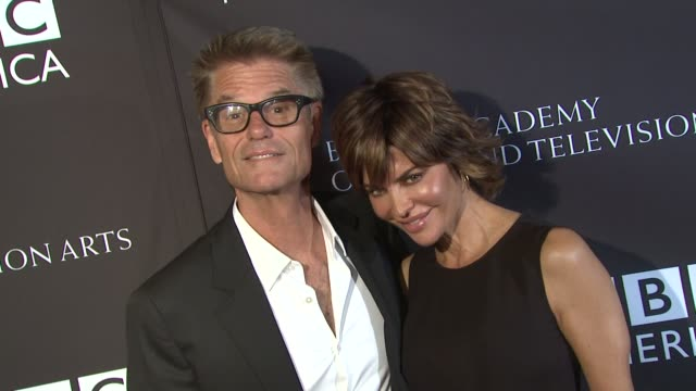 Harry Hamlin Lisa Rinna at BAFTA LA TV Tea 2013 Presented By BBC America And Audi on 9/21/13 in Los Angeles CA