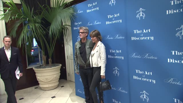 Harry Hamlin Lisa Rinna at Brooks Brothers Celebrates The Art Of Discovery Book Launch at Brooks Brothers Rodeo on October 23 2014 in Beverly Hills...