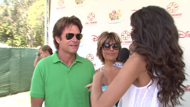 Harry Hamlin Lisa Rinna at the 20th Anniversary 'A Time For Heroes' Celebrity Carnival Sponsored By Disney at Los Angeles CA