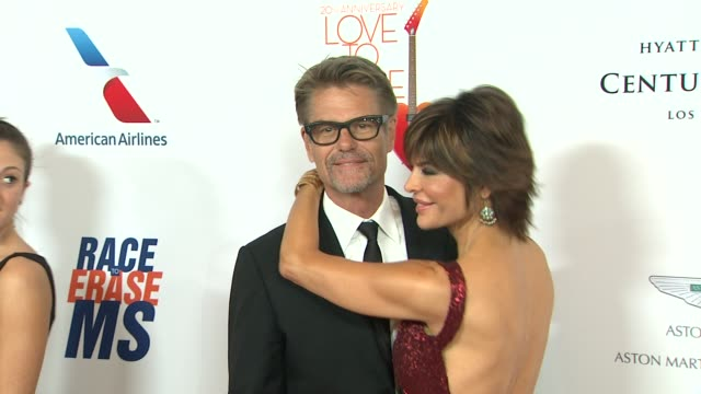 Harry Hamlin Lisa Rinna at The 20th Annual Race To Erase MS Love To Erase MS on 5/3/13 in Los Angeles CA