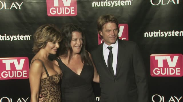 Harry Hamlin Lisa Rinna at the TV Guide 6th Annual Emmy Party at Los Angeles CA