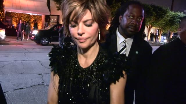 Harry Hamlin Lisa Rinna greet fans at 2013 Entertainment Weekly Pre Emmy Party in WeHo at Celebrity Sightings in Los Angeles Harry Hamlin Lisa Rinna...