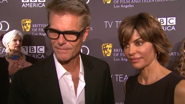 INTERVIEW Harry Hamlin Lisa Rinna on being a part of the afternoon the last time he had high tea at BAFTA LA TV Tea 2013 Presented By BBC America And...