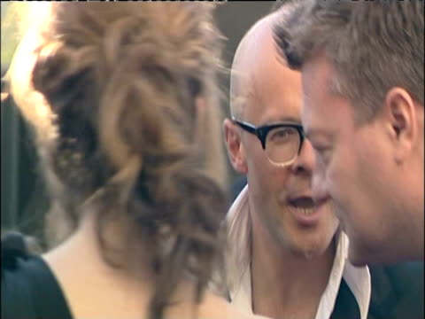 harry hill on red carpet at british academy television awards including london 26 april 2009 - television awards stock videos & royalty-free footage