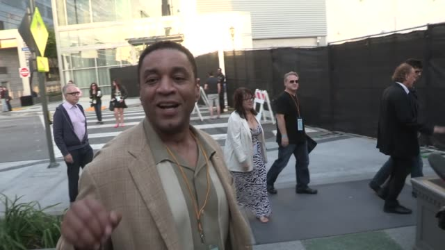 Harry Lennix greets fans while arriving at The Way Way Back After Party in Los Angeles 06/23/13