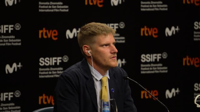 ARG: 'Supernova'' Press Conference - 68th San Sebastian Film Festival