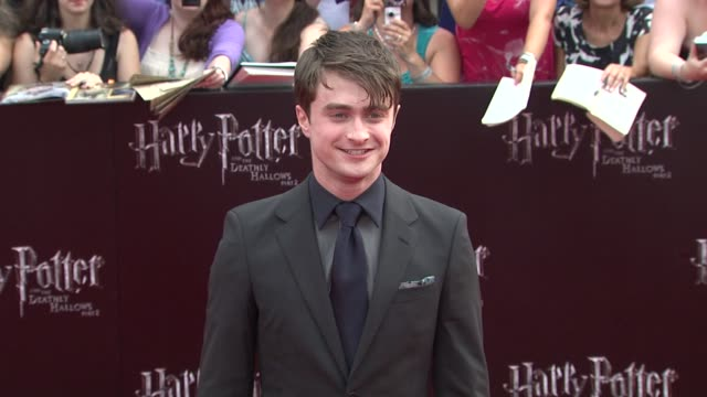 'Harry Potter And The Deathly Hallows Part 2' New York Premiere Arrivals New York NY United States