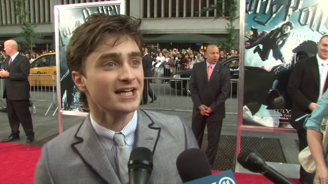 'harry potter and the half blood prince' premiere new york ny 07/09/09 - tom felton stock videos & royalty-free footage