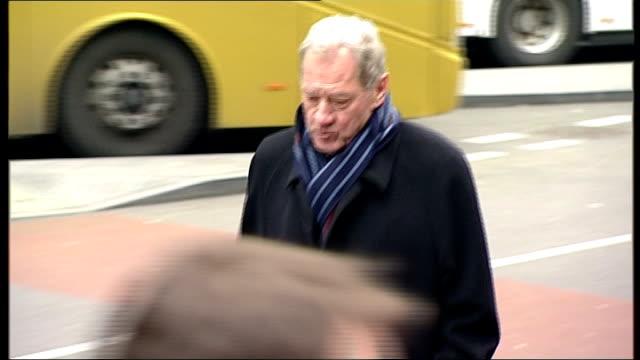 harry redknapp and milan mandaric tax evasion trial continues; england: london: southwark crown court: ext ** beware flash photography ** milan... - ハリー レッドナップ点の映像素材/bロール