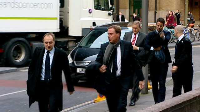 Harry Redknapp evasion trial continues ENGLAND London Southwark Crown Court PHOTOGRAPHY*** Harry Redknapp son Jamie Redknapp from car on arrivial at...