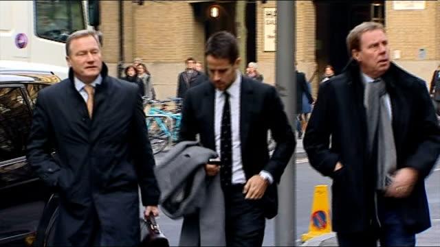 harry redknapp tax evasion trial: jury retires to consider verdict; england: london: southwark crown court: ext ** beware flash photography ** harry... - ハリー レッドナップ点の映像素材/bロール