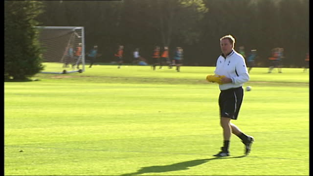 Redknapp cleared of tax fraud London Harry Redknapp along during Tottenham Hotspurs training session