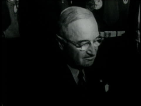 harry s truman honoring 40 years of boy scouts / washington dc united states - boy scouts of america stock videos and b-roll footage