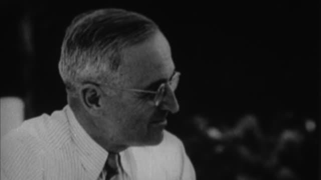 vídeos y material grabado en eventos de stock de harry s truman / washington d - camisa y corbata