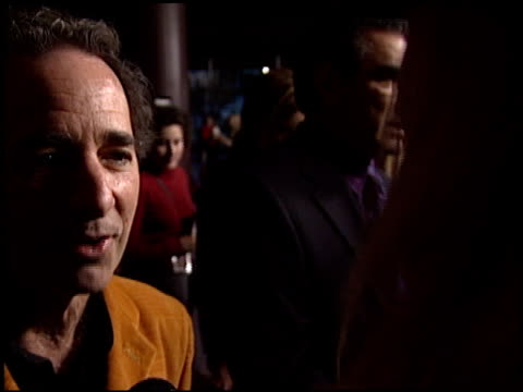 harry shearer at the 'a mighty wind' premiere at director's guide dga theater in los angeles, california on april 14, 2003. - wind点の映像素材/bロール