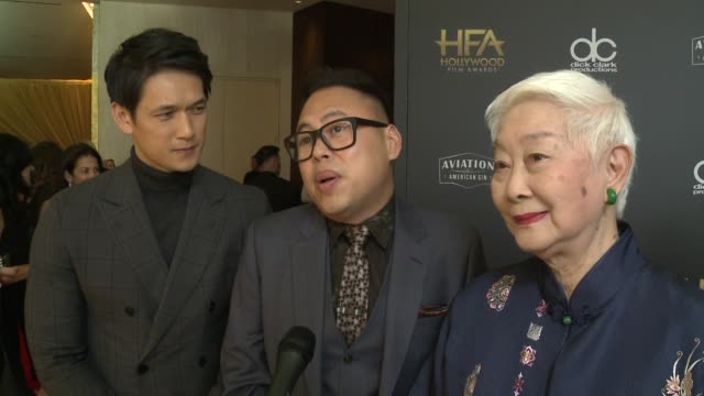 INTERVIEW Harry Shum Jr Nico Santos and Lisa Lu at the 22nd Annual Hollywood Film Awards on some of the most exciting aspects of the Hollywood Film...