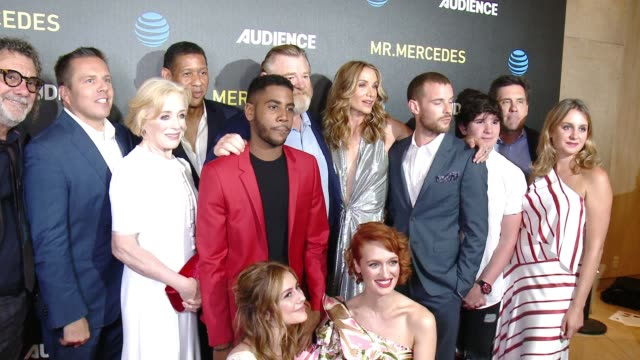 harry treadaway, holland taylor, brendan gleeson, kelly lynch, breeda wool, scott lawrence, jharrel jerome, peyton wich, justine lupe at at&t... - kelly lynch stock videos & royalty-free footage