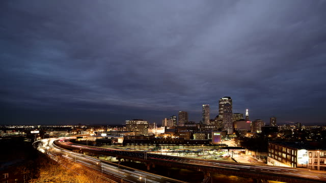 Hartford,CT stormy night
