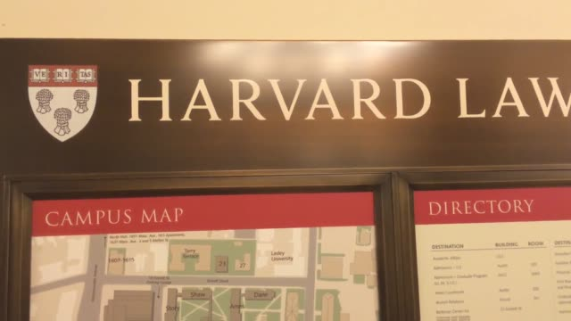 harvard law school has decided to drop the controversial shield logo, due to its association with an 18th century slaveholder. shots of the harvard... - lecturer stock videos & royalty-free footage